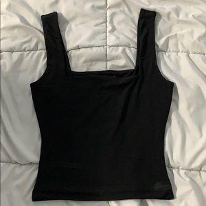 Square neck tank top